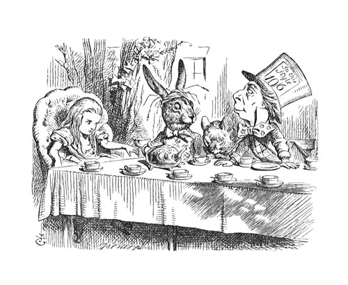 grabado by Sir John Tenniel